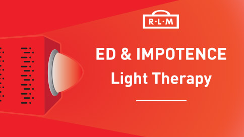 light therapy for erectile dysfunction and impotence