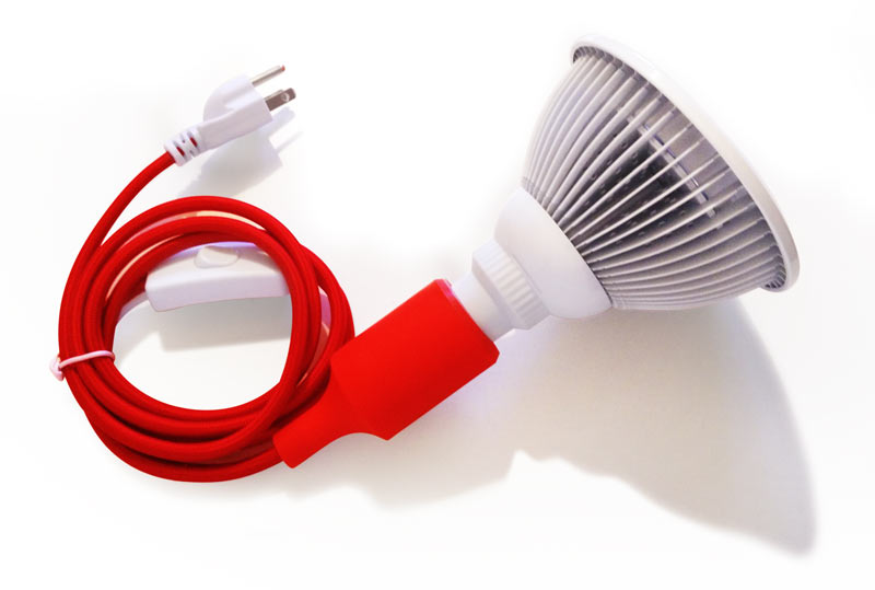 light device bulb with cable