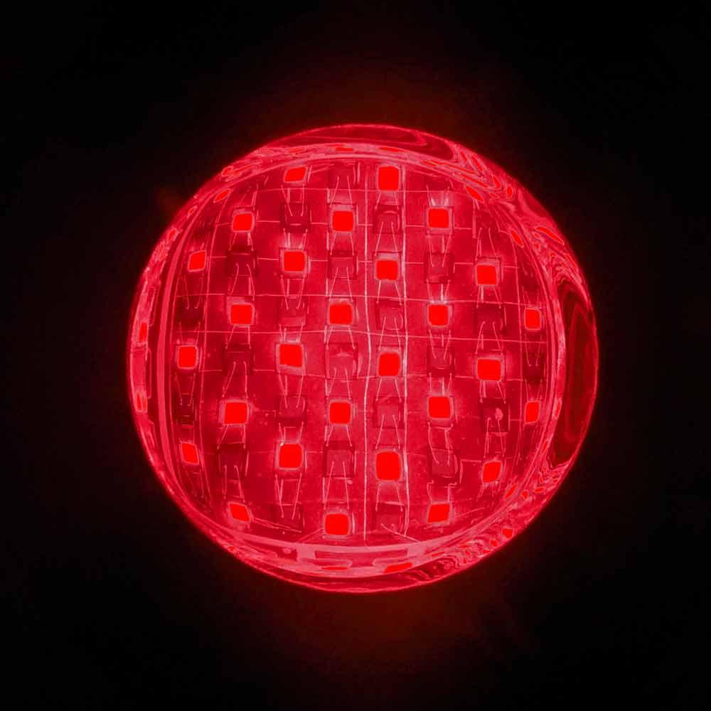 infrared cob seen through human eyes
