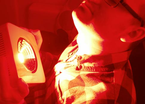 Light Therapy And Hypothyroidism Red Light Man