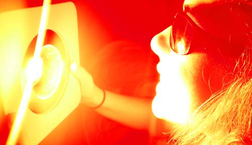 oral light therapy