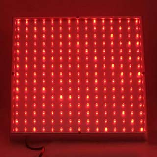 red led grow panel