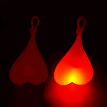 red light testicles