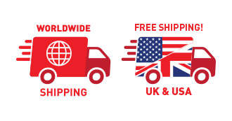 Free Shipping anywhere in the world
